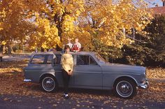 Volvo Amazon Station Wagon (My family in 1967.)