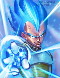Vegeta Super Saiyan God 2 by HentaiChimp on DeviantArt