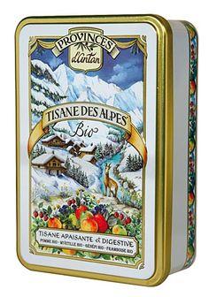 / Tisanes des Alpes bio, marque Provence d'Antan