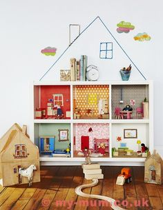 Take a look at the magnificent ideas for every house room and get started! #DIY #Dollhouse