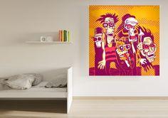 Enrollables fotográficos juvenil #decoracion #arte #urbano