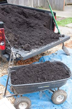 getting ready to garden pt 2-preparing beds