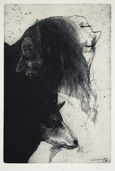 'Janus and Goat' | Robert Ernst Marx, etching