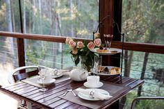 High tea by the lake at Mount Cotton Retreat   Mt Cotton #brisbaneanyday #redlandsanyday