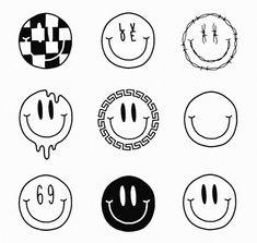 Kreativ Klassevrelse Coins Klassevrelse K Coins Klassevrelse Kreativ Mini Drawings, Art Drawings Sketches, Tattoo Sketches, Easy Drawings, Tattoo Drawings, Doodle Drawings, Hipster Drawings, Kritzelei Tattoo, Doodle Tattoo