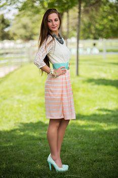 Sweet Peaches Dress
