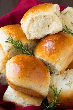 Rosemary Dinner Rolls - Cooking Classy