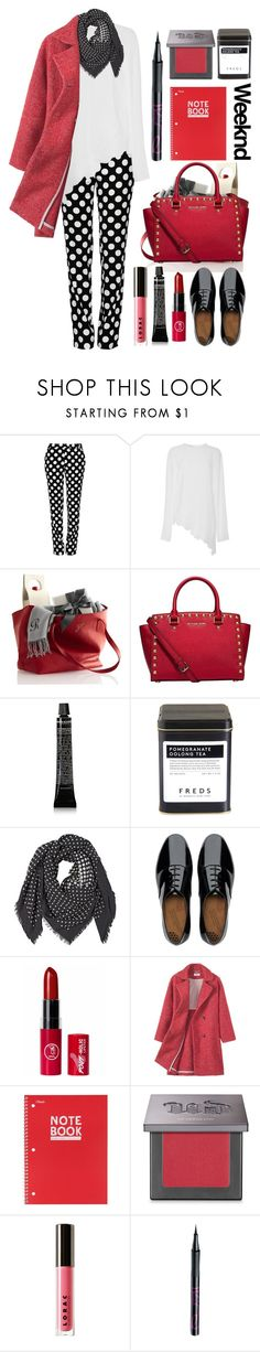 """""""26.01.16"""" by malenafashion27 ❤ liked on Polyvore featuring Boutique Moschino, Antonio Berardi, Michael Kors, Grown Alchemist, FREDS at Barneys New York, Alexander McQueen, FitFlop, Mead, Urban Decay and LORAC"""