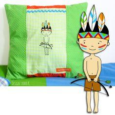 """""""little Wannabe boys"""" - machine #embroidery   Grafik & Design, Illustration & Kreativität"""
