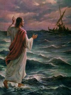 Jesus on the Stormy SeaChat says, Fear Not!