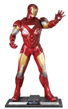 f26a6bbb623 Decor  The Avengers Iron Man by Studio Oxmox Iron Man Theme