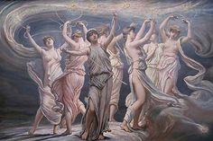 The Pleiades - Seven Sisters, by Elihu Vedder