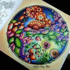 Completed page 😊 . ✔ Enchanted Forest @johannabasford [ No.6 ]. ✔ Prismacolor 72 . . . #magicaljungle #desenhoscolorir #coloring_masterpieces #artecomoterapia #colorindolivrostop #coloringbook  #beautifulcoloring #coloring_secrets #majesticcoloring #livrodecolorir #jardimsecreto #johannabasford #secretgarden #secretgardencoloringbook #artecomoterapia #jardimsecretolove #johannabasfordsecretgarden #boracolorirtop #prazeremcolorir #bayan_boyan #johannabasfordenchantedforest  #arttherapymania…
