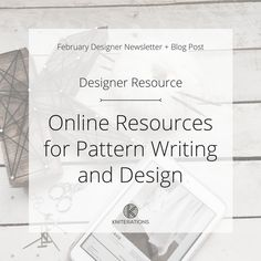 Online Resources for Pattern Writing and Design