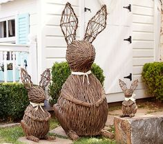 Vine Bunnies | Pottery Barn Kids