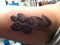 Hop Flower Tattoo