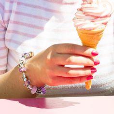 Pandora Charms, Charmed, Diamond, Sparkles, Bracelets, Inspiration, Jewelry, Summer, Style