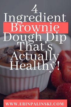 One of my favorite desserts in the world is brownie batter. I don't care for cooked brownies as much- just the dough! Of course, it's not healthy (or safe!) to eat regular brownie batter. That's why I decided to create a simple 4 ingredient healthy BROWNIE DOUGH DIP to celebrate today's food holiday! #healthymom #fitmom #healthandfitness #momhacks #healthandwellness #healthandnutrition #nutrition #healthymeals #healthymealplan #healthylife #fitnessfood #healthyeating