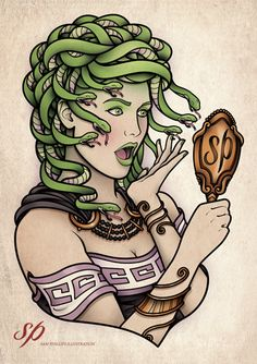 Medusa by Sam Phillips