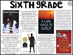Read Aloud Books for Grade 4th-8th