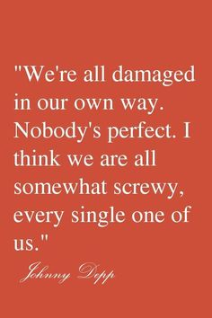 We're all screwy.