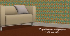 Walls [Poppet] 20 Patterned Wallpapers