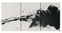"""Fabienne Verdier, """"Wanderings in dynamicscapes"""" VI, Pigments and ink on canvas, 2012"""