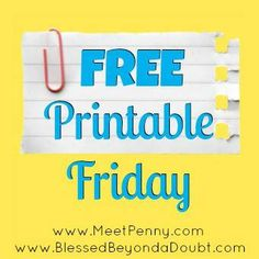 You have to check out all the FREE Printables! Over 60+!