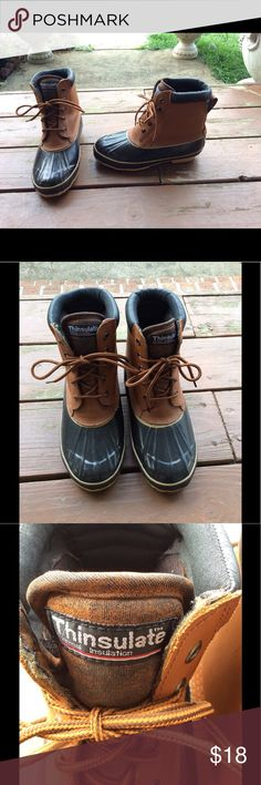 Northwest Territory Winter Rain Duck Boots Size  6 Buyer gets these awesome Northwest Territory winter Rain Duck Boots. With Thinsulate.                Size 6.            Fantastic Condition Gentle Used SEE PICS. No Holes Or Tears. northwest territory Shoes Winter & Rain Boots
