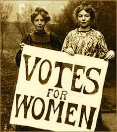 Women and men's equality was developing and this is a picture of two beautiful lady holding votes for women. As mentioned in the other pins, Women didn't really have rights to vote but in 1920s they could and it shows that women's rights were becoming stronger. Thus, it was indeed roaring twenties