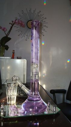 Bongs and glass water pipes are the most popular way to smoke today, and for good reason. Glass bongs have a water filtration system that cools down and filters the smoke so it is easier on your lungs. Shop a wide selection of bongs online. Glass Pipes And Bongs, Glass Bongs, Bad Girl Aesthetic, Purple Aesthetic, Bebidas Energéticas Monster, Rauch Fotografie, Cool Bongs, Stoner Art, Puff And Pass