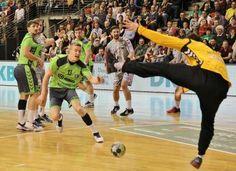 Füchse stehen nach Sieg gegen Ribnica im EHF-Cup-Viertelfinale