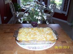 Vidalia Onion Dip.  Use Ritz crackers instead of saltines and cut the recipe in half.  Instead of using as a casserole, serve as a dip with Ritz.