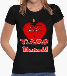 T-shirt TI AMO BASTARDO