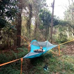 Buy Tree Tent to camp off the ground. Find more outdoor hammocks at Apollo Box!