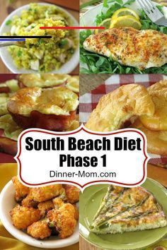 South Beach Phase 1 Diet Recipes The Dinner Mom Southbeachdietphase1 We Ve Tagged Recipes That Are Consistent With The S Rezepte South Beach Diät Dinner