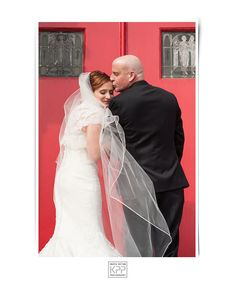 Sweet moment | Bride and her Father | Krista Patton Photography | St Philomena Church