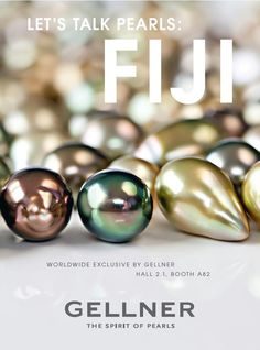 Gellner Event for our Fiji Pearls.