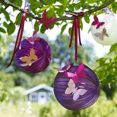Ab sofort setzen wir den Garten mit selbstgemachten Blumen-Ideen, aufgehübschten Sonnenschirmen und farbenfrohen Liegeauflagen in