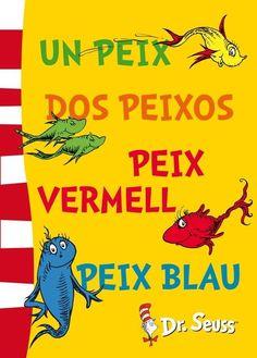 Un Peix, dos peixos, peix vermell, peix blau - Dr. Seuss: http://aladi.diba.cat/record=b1790482~S10*cat  #libros #libro #novela #novel·la #literatura #book #reading #read #novetats #novedades #llibre #infantil #child #children #album infantil #album ilustrado #album il·lustrat #library