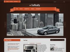 ForRealty theme is a perfect design for realty or business website. The theme uses SMT framework should have lot features to help you easily manage and control in the admin dashboard.
