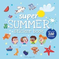 www.elisapaganelli.com  #illustration #sticker #educational #childrensbook #summer #elisapaganelli #elliepage