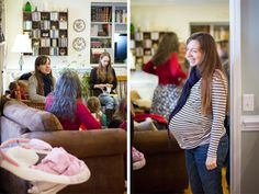Photographing a Baby Shower | get great photos in a tricky situation – baby showers! These tips are great for any kind of shower!