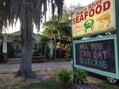 Peace River Seafood in Punta Gorda Small Town Retaurants In Florida That Are Worth Searching Fo Visit Florida, Florida Living, Old Florida, State Of Florida, Florida Vacation, Florida Travel, Florida Keys, Florida Beaches, Florida Trips