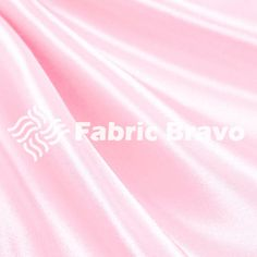Pink Satin Fabric 60  Inches Wide  for Weddings, Decor, Gowns, Sheets, Costumes, Dresses, etc