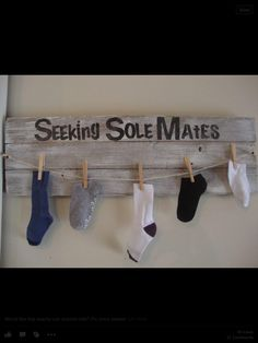 Sole Mates for laundry