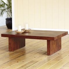 cool simple table, good price too! http://www.worldmarket.com/product/index.jsp?productId=3909393 $99 #table #furniture #wood