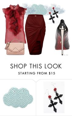 """""""Mystery...."""" by maggiebell53 ❤ liked on Polyvore featuring Riess, House of Harlow 1960, Oscar de la Renta and Karl Lagerfeld"""