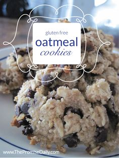 BLOG - GIFT DAY 132 :: 30 days of love: gluten free oatmeal cookies
