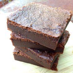TWO INGREDIENT Nutella Brownies #recipe